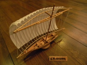 帆引き船模型② (1)