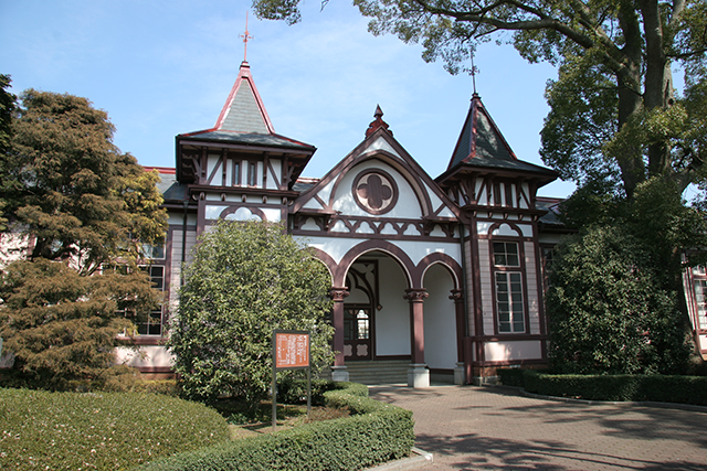 旧土浦中学校本館